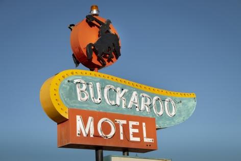 Buckaroo Motel, 2020, Archival pigment print