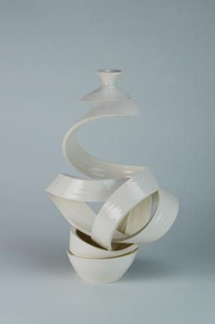 Spatial Spiral: Venus II, Ceramic, Glaze