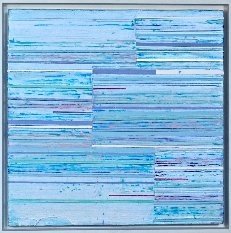 Vesta, 2020, Acrylic and graphite on canvas in artist frame