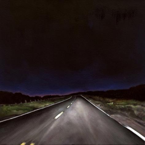 Race Point III, 2018, Oil on canvas