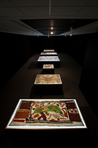 TERESA MARGOLLES, Installation View:We Have a Common Thread,Colby Museum