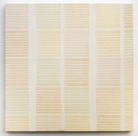 , MICHELLE GRABNER Untitled, 1999 Flock on canvas 36 x 36 in. (91.4 x 91.4 cm)