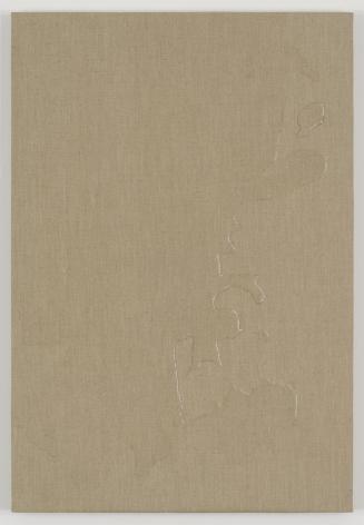 , HELENE APPELSpilled Water,2014Watercolor on linen29 1/2 x 20 1/16 in. (75 x 51 cm)