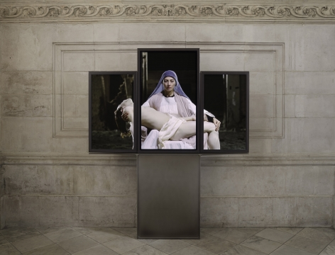 Bill Viola at St. Paul's Cathedral