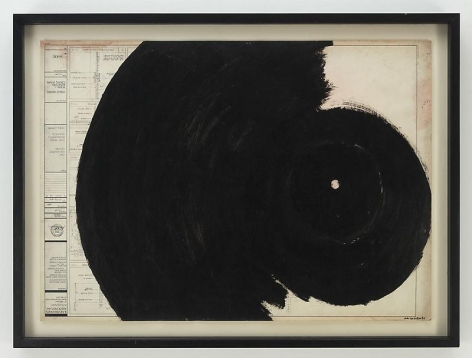 ALDO TAMBELLINI A-410, from the Black Energy Suspended Series, 1989