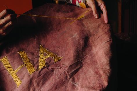 TERESA MARGOLLES, Embroidery