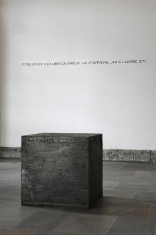 TERESA MARGOLLES, Cubo