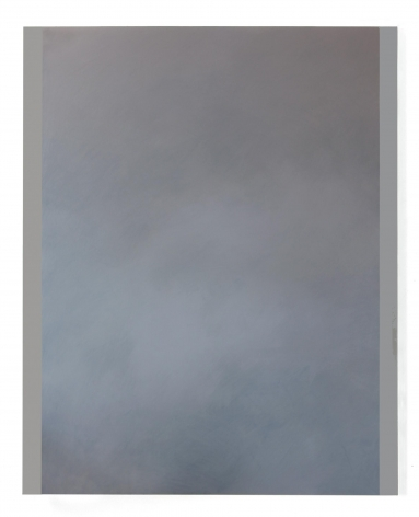 , BYRON KIMLayl almadina (Clouds 3),2015 Acrylic on canvas mounted on panel 60 x 48 in. (152.4 x 121.9 cm)