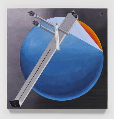 MERNET LARSEN Astronauts: Sunset (after El Lissitzky), 2020