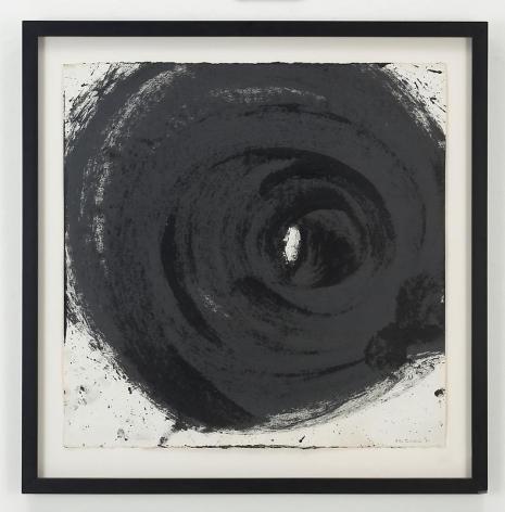 ALDO TAMBELLINI Black 5, To Be Enveloped by Black, 1961