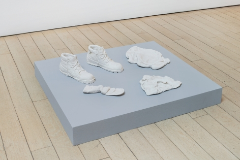 CANDICE LIN Fragments from A Hard White Body (Socks,
