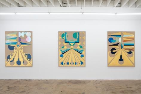 EAMON ORE-GIRON, Installation view:Darién Gap, Nina Johnson, Miami, FL, December 2, 2019 - January 4, 2020