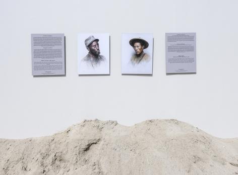Installation view: Sharjah Biennial 14: 'Leaving the Echo Chamber'