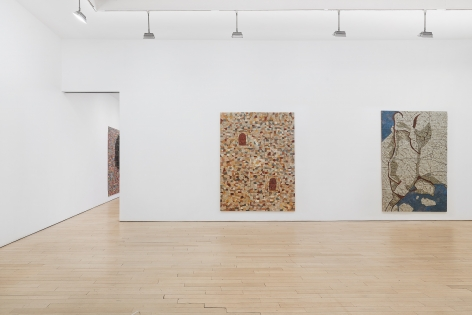 Installation view, NOISELESS, James Cohan Chelsea, April 27 - June 29, 2019