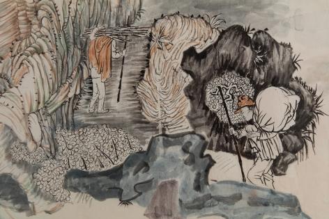 YUN-FEI JI, The Processions,2017-2018 (detail)