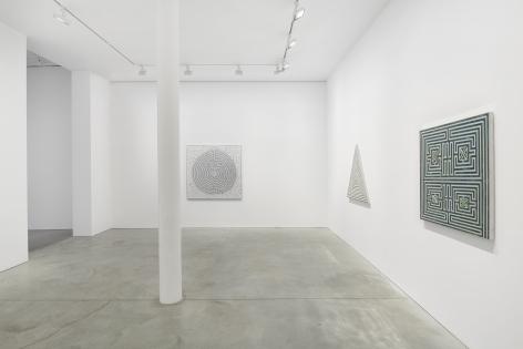 Installation view, Monir Shahroudy Farmanfarmaian,Mirror-works and Drawings (2004-2016),48 Walker St, January 29 - March 6, 2021