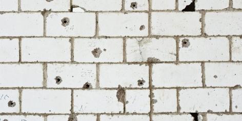 TERESA MARGOLLES, Detail View: Muro Baleado(Culiacán)