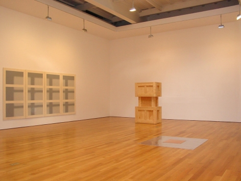, A Simple Plan,2003 Installation view