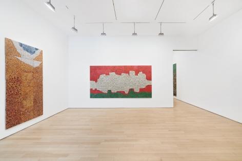 Installation view,NOISELESS,James Cohan Chelsea, April 27 - June 29, 2019