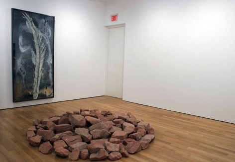 Various Artists. Summer Show. Installation view. SE Corner, Viewing Room. James Cohan Gallery, New York.