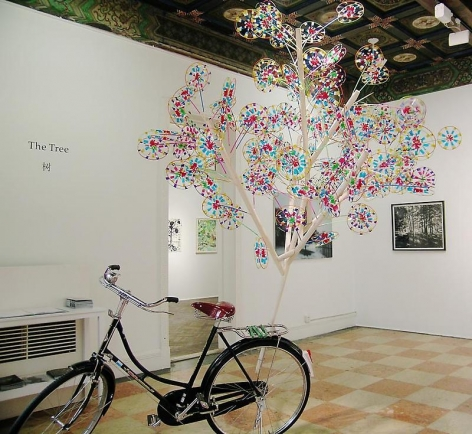 MICHAEL LIN Money Tree (Ever green), 2009