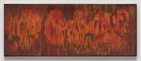 , LEE MULLICAN, Meditation on a Southwestern Landscape, 1962, Oil on canvas, 36 x 90 in.
