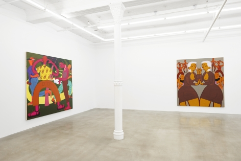 Installation view, James Cohan, 2018