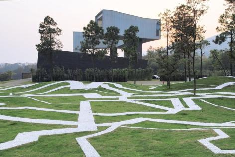 XU ZHEN ®ï¸, 2013Movement FieldInstallation view: Sifang Museum,Nanjing