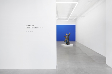 Installation view, Yinka Shonibare CBE, Earth Kids, 291 Grand St, December 4, 2020 - January 23, 2021