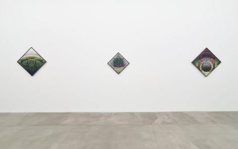 , Installation view, Philip Hanson: It is too difficult a Grace, 2016, Gallery 1