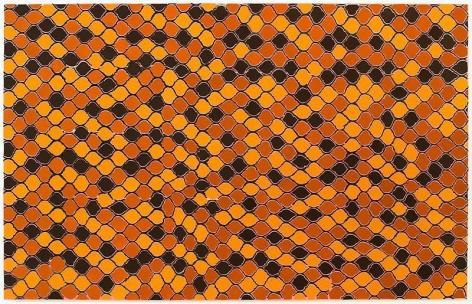 TRENTON DOYLE HANCOCKThe Den2012 Acrylic and mixed media on canvas 84 x 132 x 3 in.