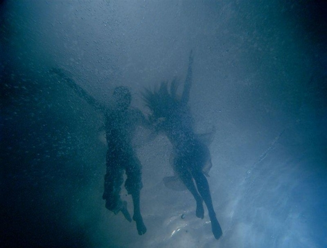 BILL VIOLA The Fall Into Paradise, 2005