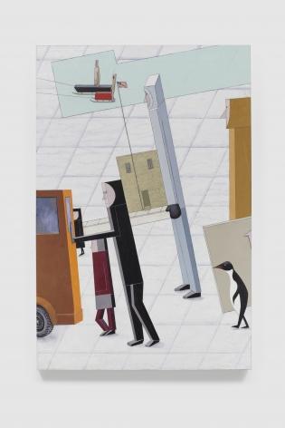 MERNET LARSEN Departure (after El Lissitzky), 2019