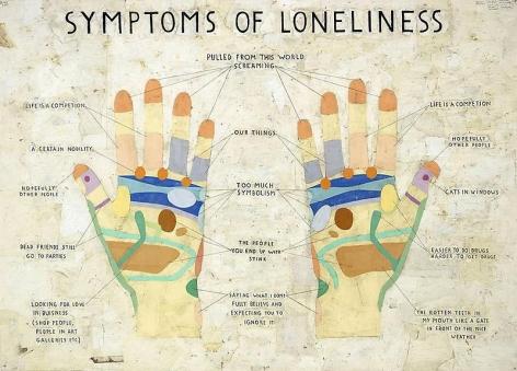 SIMON EVANS Symptoms of Loneliness, 2009