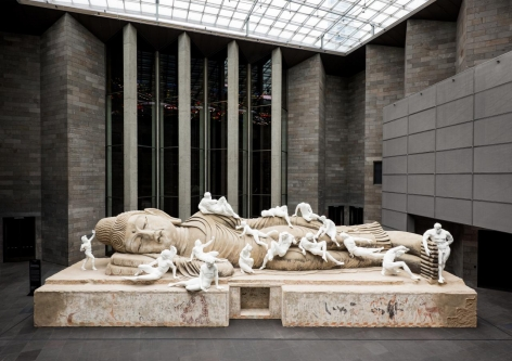 XU ZHEN®ï¸ Eternity-Buddha in Nirvana, the Dying Gaul, Farnese Hercules, Night, Day, Sartyr and Bacchante, Funerary Genius, Achilles, Persian Soldier Fighting, Dancing Faun, Crouching Aphrodite, Narcissus Lying, Othryades the Spartan Dying, the Fall of Icarus, A River, Milo of Croton