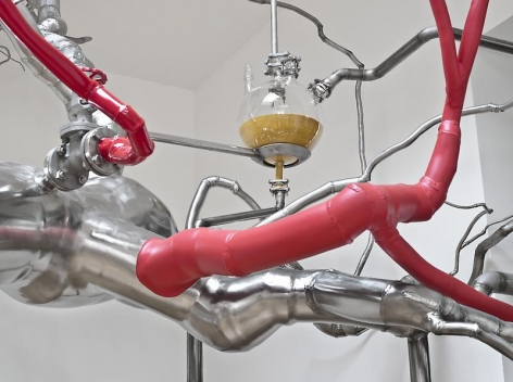 ROXY PAINE Distillation, 2010