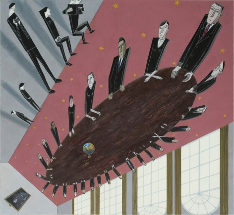 MERNET LARSEN Cabinet Meeting