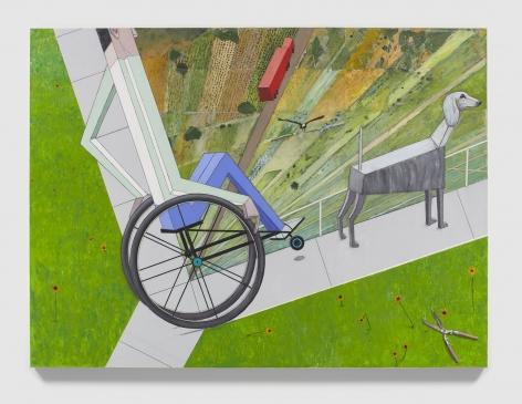 MERNET LARSEN Intersection (after El Lissitzky), 2020