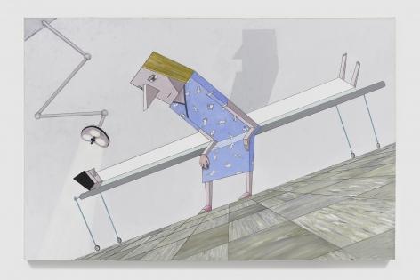 MERNET LARSEN Gurney (after El Lissitzky), 2019