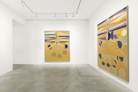 Installation view, Eamon Ore-Giron, The Symmetry of Tears, James Cohan, 48 Walker St, May 1 - June 5, 2021