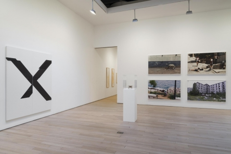 , By Proxy 2014 Installation view