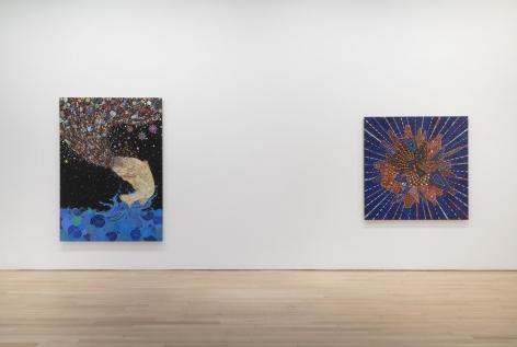 , FRED TOMASELLI Current Events, 2014 Installation view