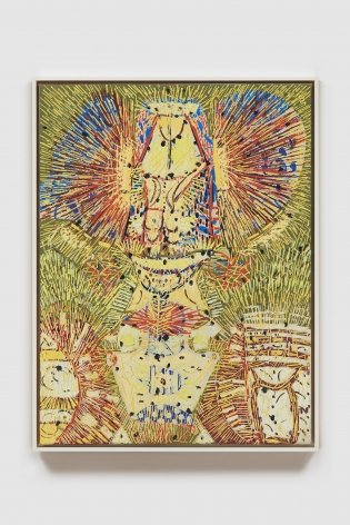 LEE MULLICAN , Untitled (The Owl)