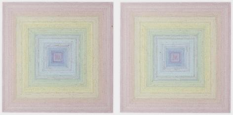 , SIMON EVANSThe Eye,2012Collage on paper31 1/2 x 31 1/2 in. (80 x 80 cm)