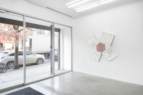Installation view, Monir Shahroudy Farmanfarmaian,Mirror-works and Drawings (2004-2016),291 Grand St, January 29 - February 27, 2021