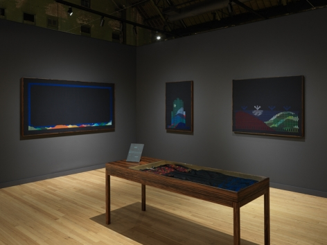 Installation views,Jordan Nassar: Night