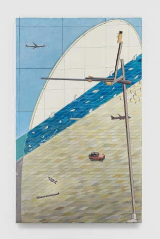 MERNET LARSEN Beach (after El Lissitzky), 2020