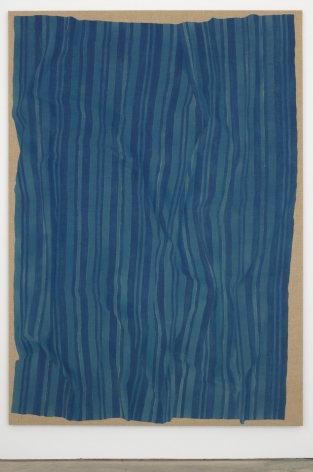 HELENE APPEL Loose Blue Fabric