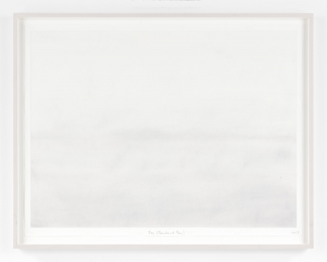 SPENCER FINCHFog (Penobscot Bay)2017Pastel and pencil on paper38 1/2 x 50 in.97.8 x 127 cmJCG9455