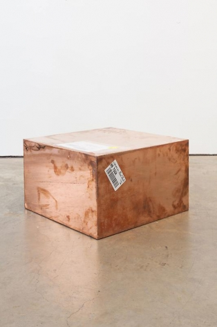 WALEAD BESHTY 20-inch Copper (FedEx® Medium Kraft Box ©2004 FEDEX 155143 REV), Standard Overnight, Los Angeles-New York trk#798399701913, May 15-16, 2012